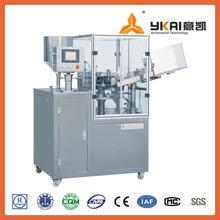 Hair dye filling and sealing machine, metallic tube filling machine manufacturer, Hair dye sealer
