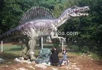 Outdoor playground animatronic dinosaur sculpture for sale