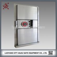 vented security stainless steel vault room door
