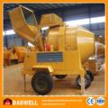 Móvel motor Diesel preço concreto máquina misturadora de Daswell máquinas