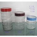 özel cam toptan konserve kavanozları küçük kavanoz ve su testisini