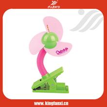 Clip baby stroller battery powered electrical fan