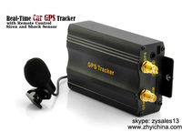 car/motorcycle gps tracking system with emergency alert