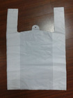 plastic produce bag on a roll ,HDPE white food bag