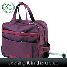 Fashion design foldable oxford travel bag women duffle bag