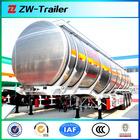 45000litres diesel fuel petrol oil tanker semi trailer / truck semitrailer