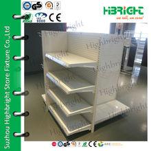 4 way gondola shelf/supermarket display shelf