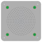 304 stainless steel LED concealed ceiling top rain shower head DPG5009