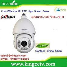 Dahua Analog 540TVL IR PTZ Dome Camera SD6C23C-H IR waterproof cctv camera long range