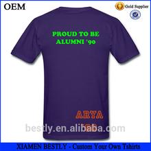 Boys stylish wholesale men organic t-shirt