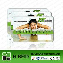 Portrait Printing plastic voter id card format