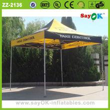 el mercado al aire libre tienda plegable carpa plegable de aluminio plegable canopy tienda de campaña