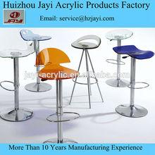 Acrylic material high chair;Acrylic material bar chair ;Acrylic swivel chair