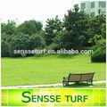 Erba artificiale per il giardino, erba sintetica per il paesaggio