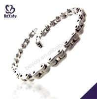 Manufacture price fashion modern 316l free syria bracelet
