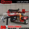qingdao honsun split lama protetta orizzontale e verticale Koop tempesta motore diesel pneumatico piombo macchina di taglio