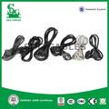 alibaba china fabricante de alta calidad 2 pin con aislamiento de pvc cable de alimentación para plancha de pelo