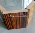 Cor grão de madeira mdf pvc/borda a borda pvc pode desde