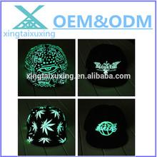 wholesale custom glow in the dark hat