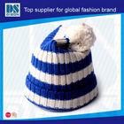2014 Hot Sale Wholesale Winter Knit Baseball Hat Pattern