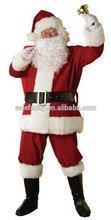 Adult Mens Santa Suit Set Christmas Santa Claus Costume QAMC-2079