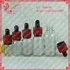 5ml clear glass oiler oil and vinegar cruet bottle liquid with dropper childproof cap tamper proof cap