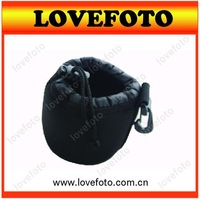 S+M+L+XL Size Neoprene camera DSLR Lens Soft Pouch Bag case For SLR camera