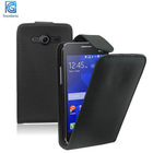 Mix colors Leather Flip Mobile Phone Case Cover Pouch Saver for Samsung Galaxy Core 2 II