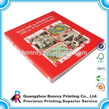Professional Fashion Magazine Printing/Fine Art Book Printing
