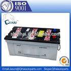 truck battery 12v120ah jis standard car battery for starter