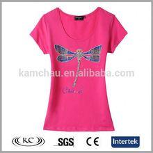 popular hotsale woman pink wholesale safety shirts