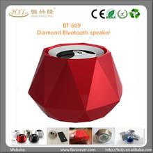 New computer gadgets 2014 USB mini Diamond shape powered Bluetooth speaker China mobile phone accessory