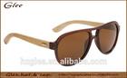 cheap bamboo frame vintage style summer eyewear sunglasses