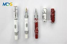 fountain pen, porcelain metal pen, custom logo gift pen for MDS-FR608
