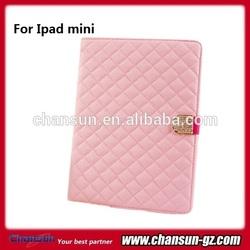 luxury leather smart cover case for apple ipad mini