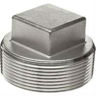 Stainless Steel Hex Head Plug