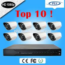 Top 10! 8Channel 1080P HD-SDI Economical Video Surveillance DVR CCTV Camera Kit System