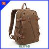 "Top quality custom canvas backpack men laptop backpack for 15"""