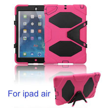 stand shockproof back case for ipad 5 air cover skin protection