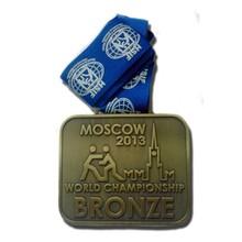 ingrosso souvenir antico in metallo finitura onore medaglia