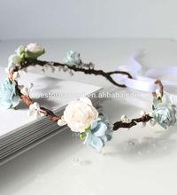 Floral Crown Flower Garland Headband