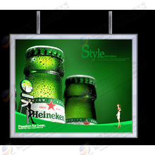 hot sale acrylic double-sided poster display case led light box