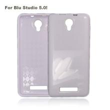 Pure Color Simple Design TPU Case for Blu Studio 5.0