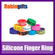 Customized promotional finger band