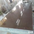 China qualidade superior de quartzo/marrom cor de pedra de quartzo lajes