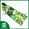 Colorful print elastic tape Brazil flag soft elastic webbing