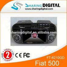 "6.2"" GPS Sat Nav DVD Player digital TV DVB for Fiat Abarth 500 autoradio dvd gps"