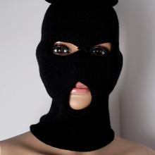 Two Use Way Beanie Full Face Mask Warm Ski Balaclava Mask