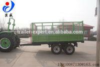EU aid trailer, parts fruehauf trailer high hurdle cotton trailer with CE