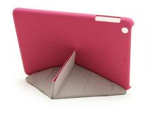 New Arrival Slim Smartbookstand Leather Creative Transformers Case For Ipad Mini